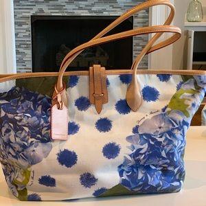 Dooney & Bourke Hydrangea Pattern Large Tote Bag